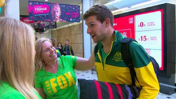 Australia's Paralympians return home following Rio Games