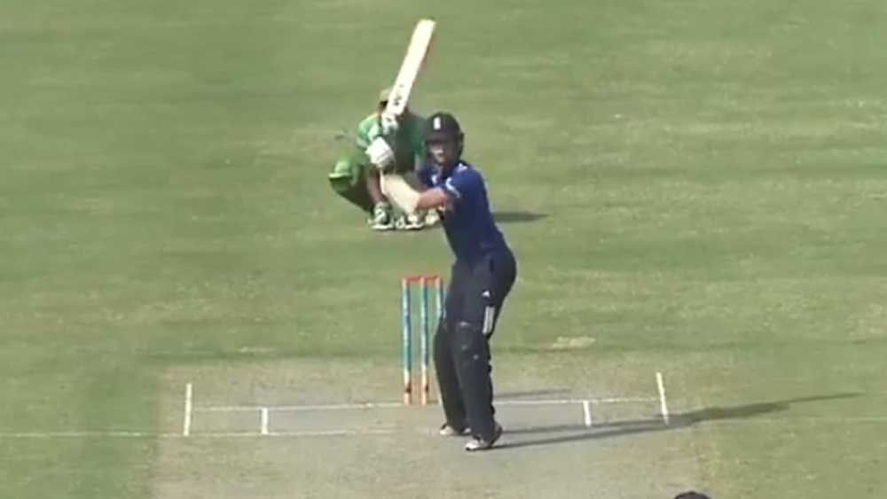 Batsman sparks controversy with 'psych out' tactic