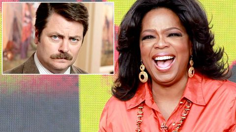 Which sitcom wants Oprah to play an evil ex-wife?