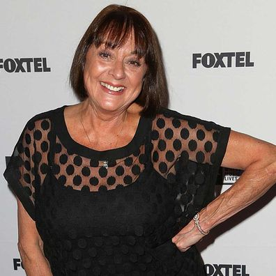 Denise Drysdale arrives at the Molly Meldrum 50 years in music celebration at Club 23 on November 12, 2014.