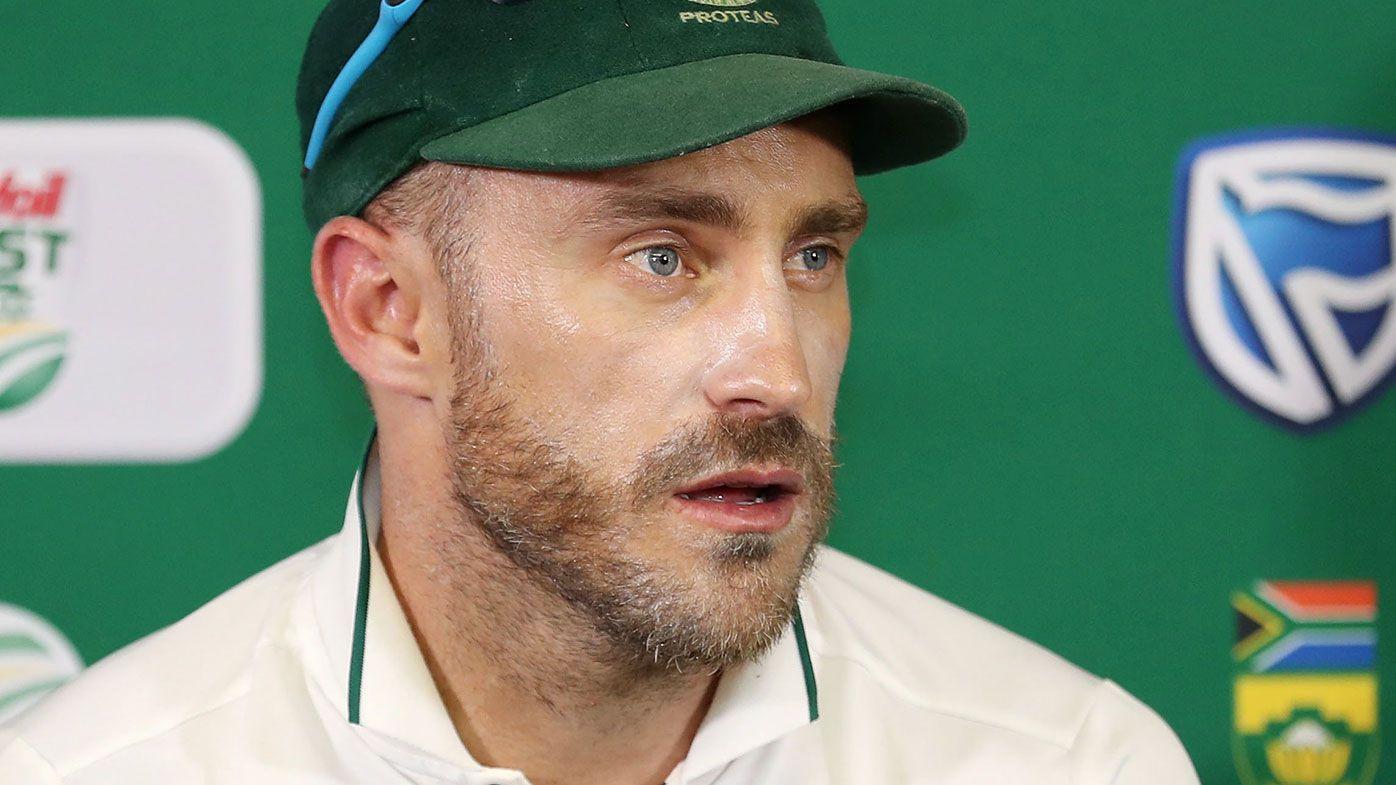 Faf du Plessis calls for harsher tampering penalties
