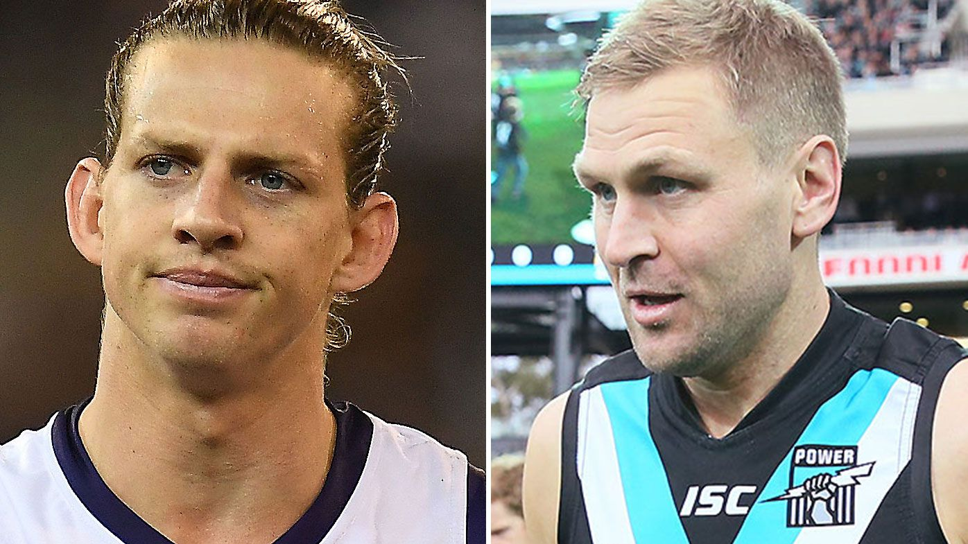 'Told you old man': Kane Cornes reveals the savage Nat Fyfe sledge that ended his career