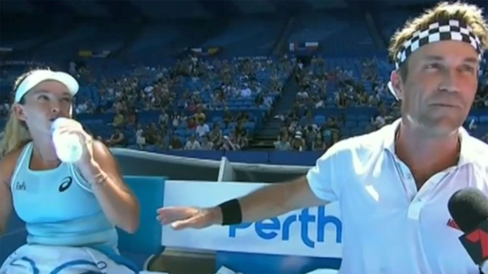 Pat Cash makes return as USA sweat on Sock fitness at Hopman Cup