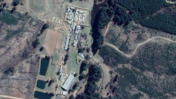 An overhead shot of Kirkconnell Correctional Centre