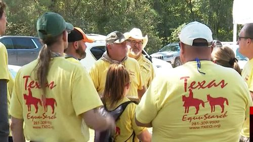 More than 100 volunteers and several other agencies aided in the nonstop search.
