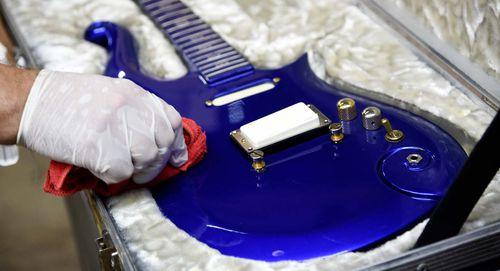 Prince's custom guitar sells for $825,000