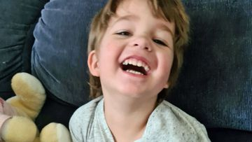 Leanne Page's son Tyler, 3, was diagnosed with autism when he was two.