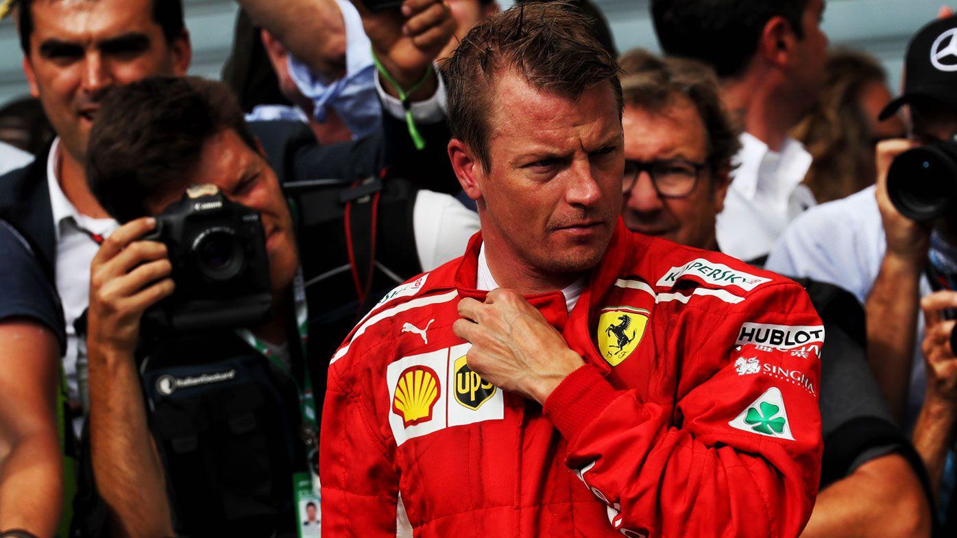 Raikkonen joins F1's Sauber from Ferrari