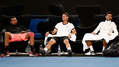 Kyrgios vs Djokovic turns ugly