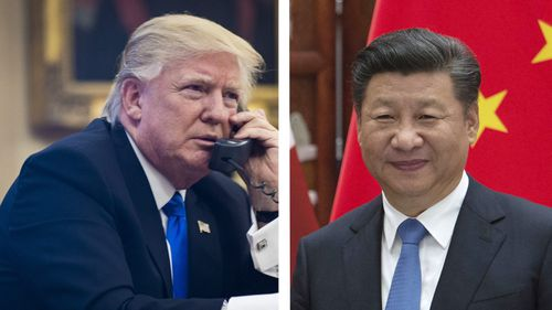 Donald Trump says US will honour 'one China' policy during first call with Chinese president