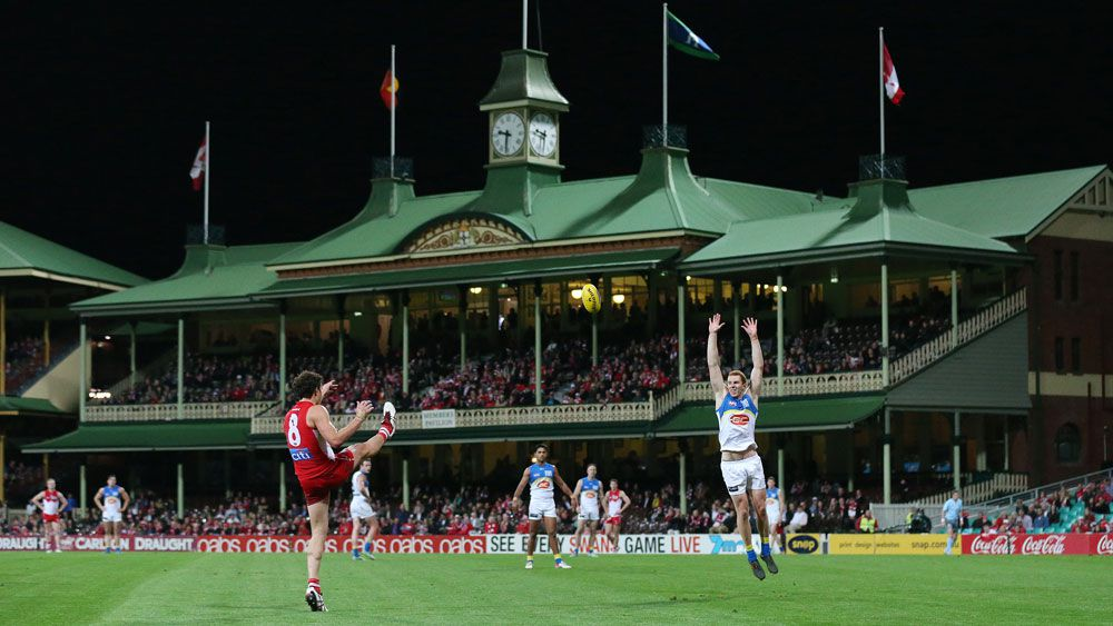 The SCG is now the Swans' permanent home. (AAP)