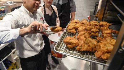 KFC letting customers cook in the kitchen