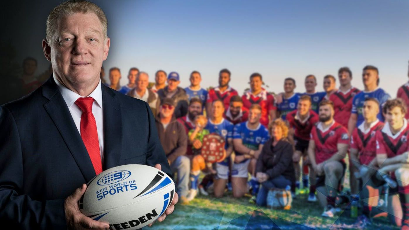 Phil Gould returns to his NRL homeland to call Intrust Super Cup clash between Newtown Jets and North Sydney Bears