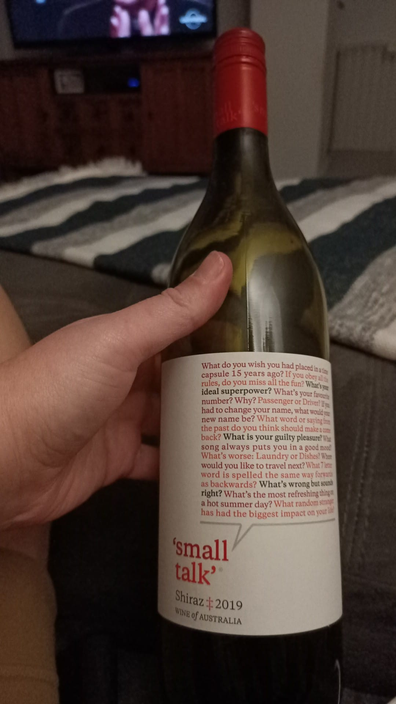 Aldi Small Talk Shiraz 2019