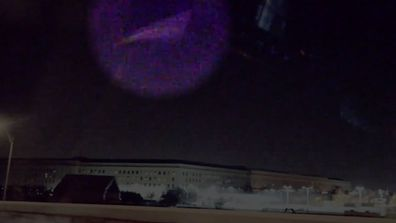 Paranormal caught on Camera UFO over the pentagon