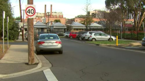 Eight kilometres of road will be affected by the slow-down. Picture: 9NEWS