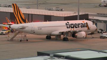 A Tigerair flight has been forced to make an unscheduled landing in Melbourne.