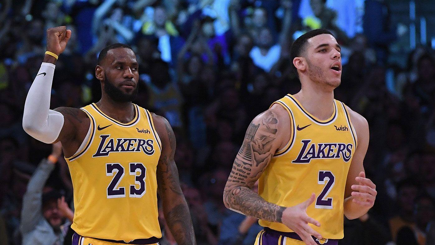 LeBron and Lonzo bag Lakers NBA milestone