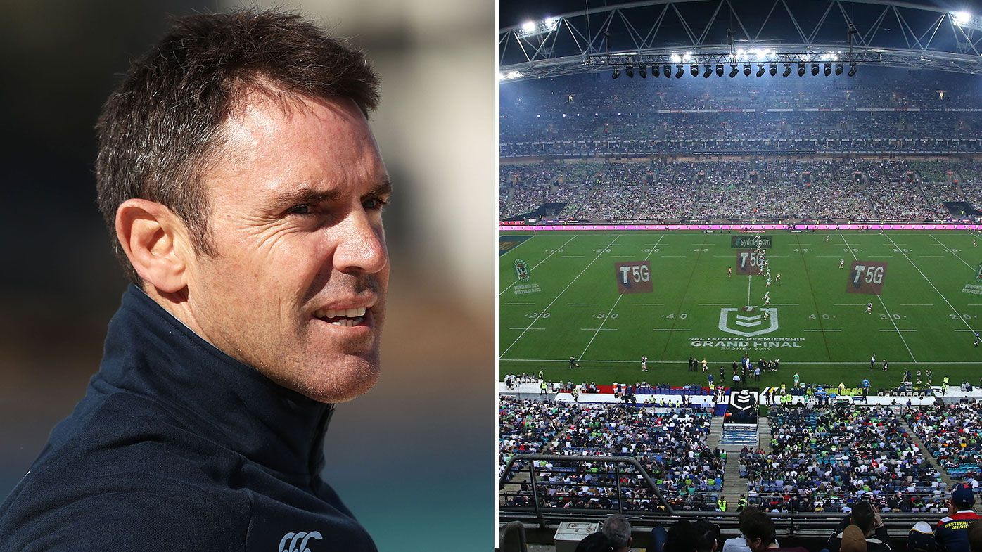 Brad Fittler, ANZ Stadium