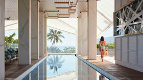 Hotel tour: Cairns' luxe waterfront 'social butterfly' Flynn has finally opened