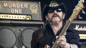 Motörhead frontman Lemmy. (AAP)