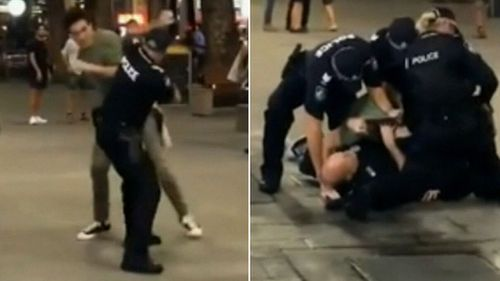 A 20-year-old man was charged over the incident. (9NEWS)