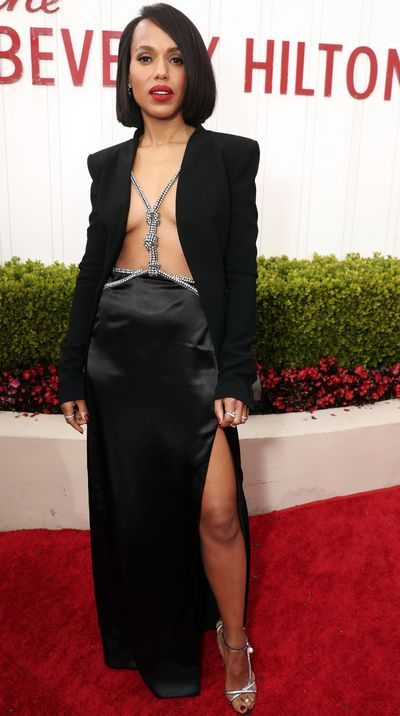 Kerry Washington at the 2020 Golden Globes.