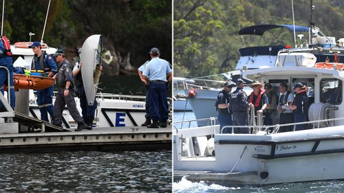 Police divers have been working with the ATSB.