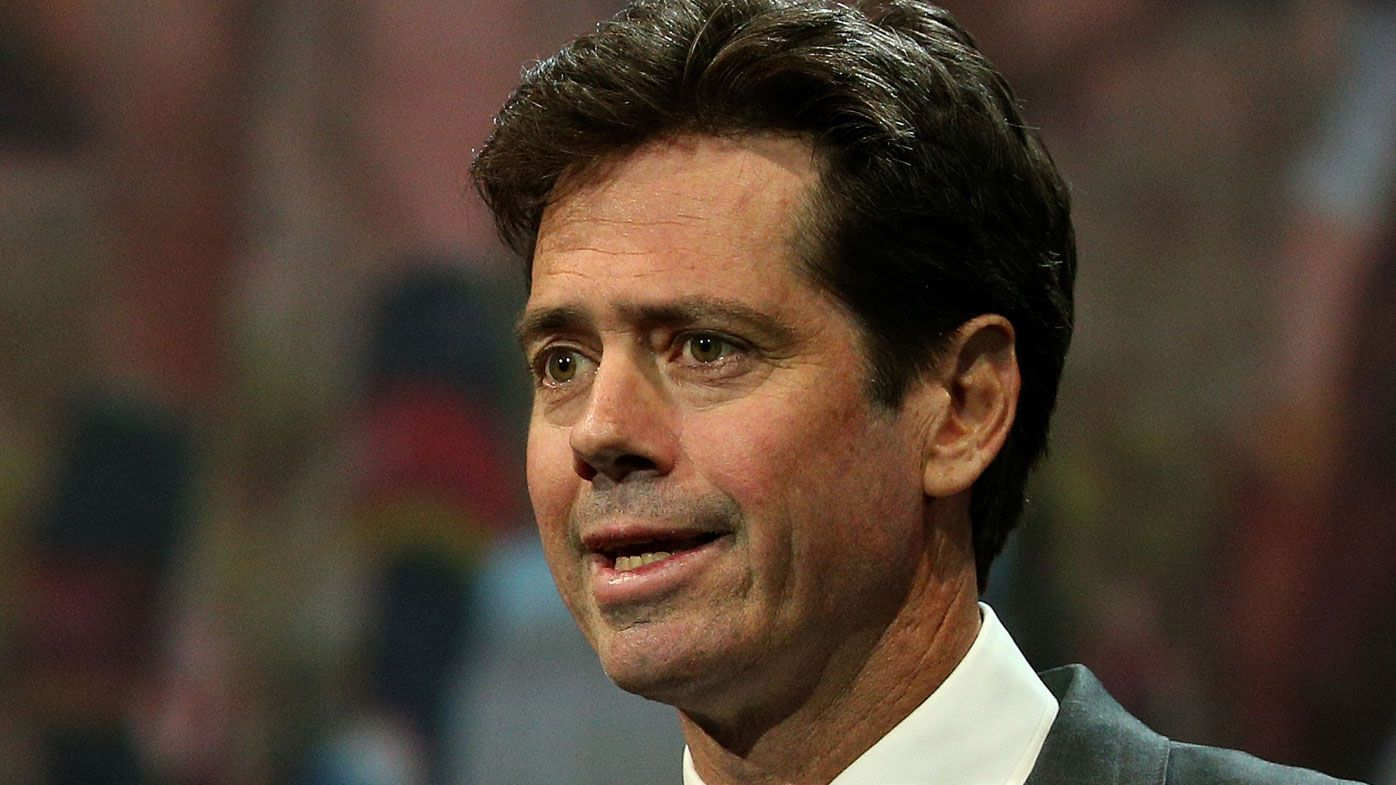 AFL boss Gillon McLachlan apologises, will front media over crowd control saga