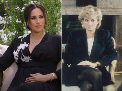 Meghan Markle and Princess Diana compared for 'enigmatic smiles' in bombshell interview