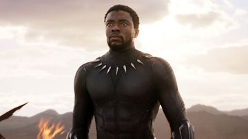 Chadwick Boseman was the star of Black Panther.
