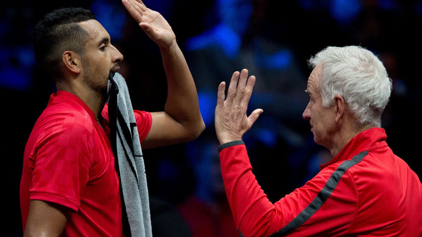 'He absolutely loves him': The unique bond between John McEnroe and Nick Kyrgios, Aussie star opens up on new 'happier' outlook