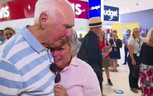 Friends and families reunited in emotional scenes as borders open