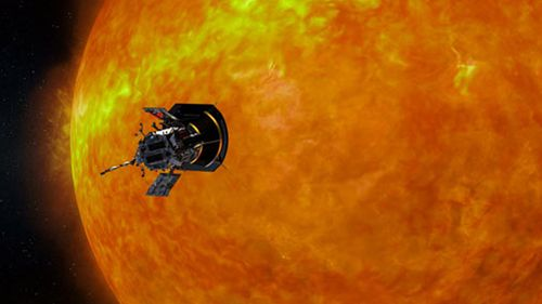 Nasa spacecraft Parker Solar Probe gets close to the Sun