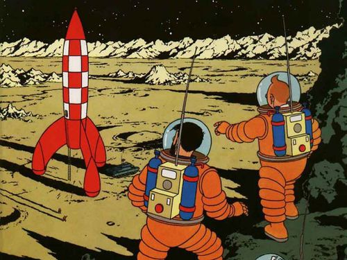 Tintin drawing sells for record $2.2 million in Paris