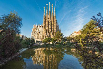 <strong>La Sagrada Familia, Spain</strong>