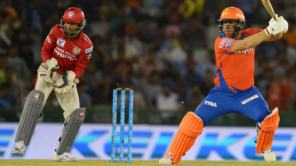 Finch stars on Lions debut in IPL