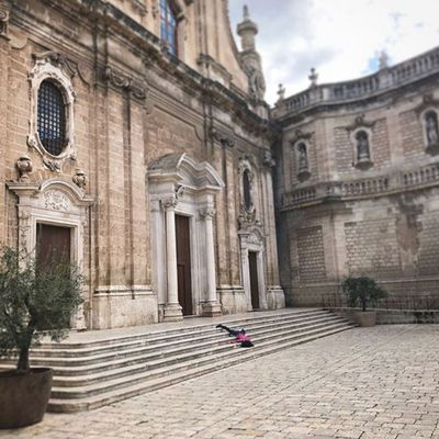 Monopoli Cathedral in Monopoli, Italy