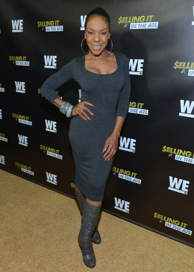 Andrea Kelly attends WE tv Selling It: In the ATL premiere at Woodruff Arts Center on November 3, 2015 in Atlanta, Georgia.