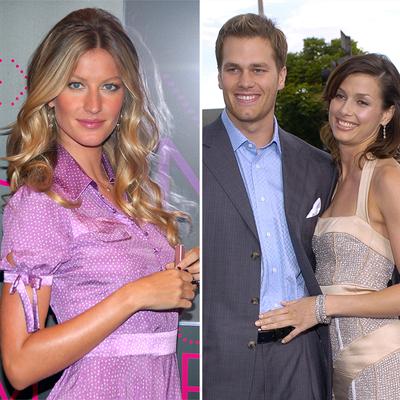 Gisele Bundchen, Tom Brady and Bridget Moynahan