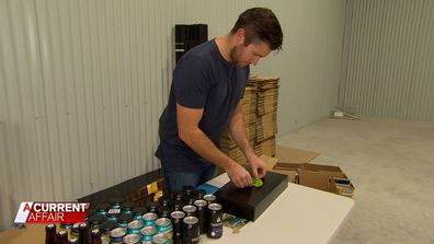 The Beer Drop is a small, family owned and operated business run out of a garage.