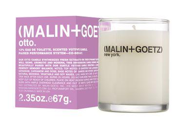 "<a href=""http://mecca.com.au/malin-goetz/otto-candle/V-005922.html"" target=""_blank"">Malin + Goetz Otto Candle, $78.</a>"