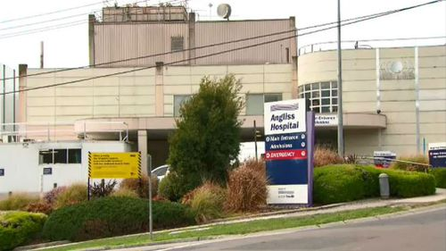 The young girl died at the Angliss Hospital on Friday. (9NEWS)