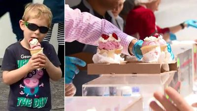 Strawberry sundaes prove huge hit at pop-up CBD stall