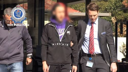 They've been given strict conditional bail. Police are searching for a fourth male they believed is involved. It's believed he's overseas. Picture: 9NEWS