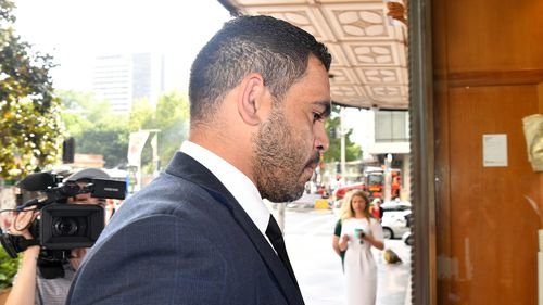 Inglis blew over the legal limit on his way back to Sydney after attending the Koori Knockout in Dubbo.