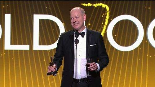 Tom Gleeson wins the Gold Logie