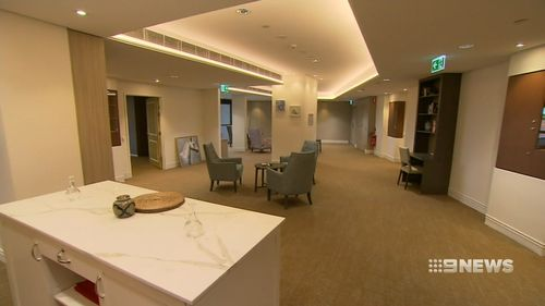 The new design features keyless doors and floor sensors to detect residents. Picture: Nine