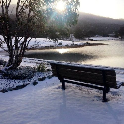 Snowfall at the Snowy Mountains. (9NEWS)