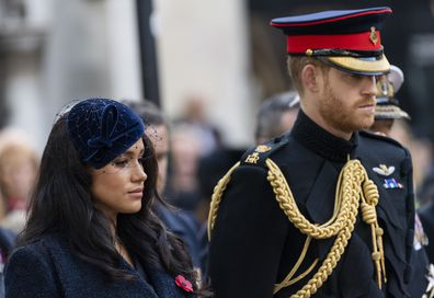 remembrance day 2020 prince harry meghan markle honour war dead from los angeles 9honey prince harry meghan markle